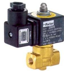 Parker 141 Series 3/2 Solenoid Valve For Air,oil, Inert Gases And Water
