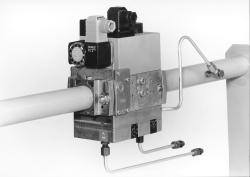Dungs Gas Multibloc MBC-VEF Series - Combined Regulator And Safety Shut Off Valves With Air/gas Ratio Control