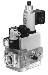 Dungs Gas Multibloc MB-ZRD (LE) 405-412 B07 - Combined Regulator And Safety Shut Off Valves With Integrated Bypass Valve - Two Stage Function (high/low)