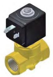 Parker Lucifer 121K Series - 2 Way Direct- Acting Disc On Seat Solenoid Valve