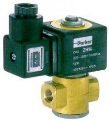 Parker 120.4 Series 2 Way Valve For Fuel Oil, Diesel - Normally Open